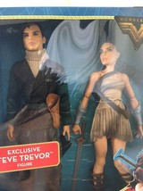 DC Comics Wonder Woman Movie 2017 Steve Trevor And Wonder Woman Figures ... - $23.75