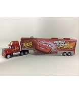 "Disney Cars Mack Hauler Storage Trays Case Box Lightning McQueen 24"" Sem... - $60.55"