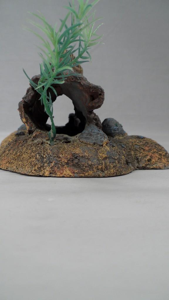 2002 brpp detailed ceramic hollow log hiding spot aquarium for Aquarium log decoration