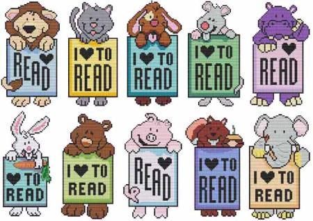 Primary image for MIni Critter Bookmarks cross stitch chart Cross Stitch Wonders
