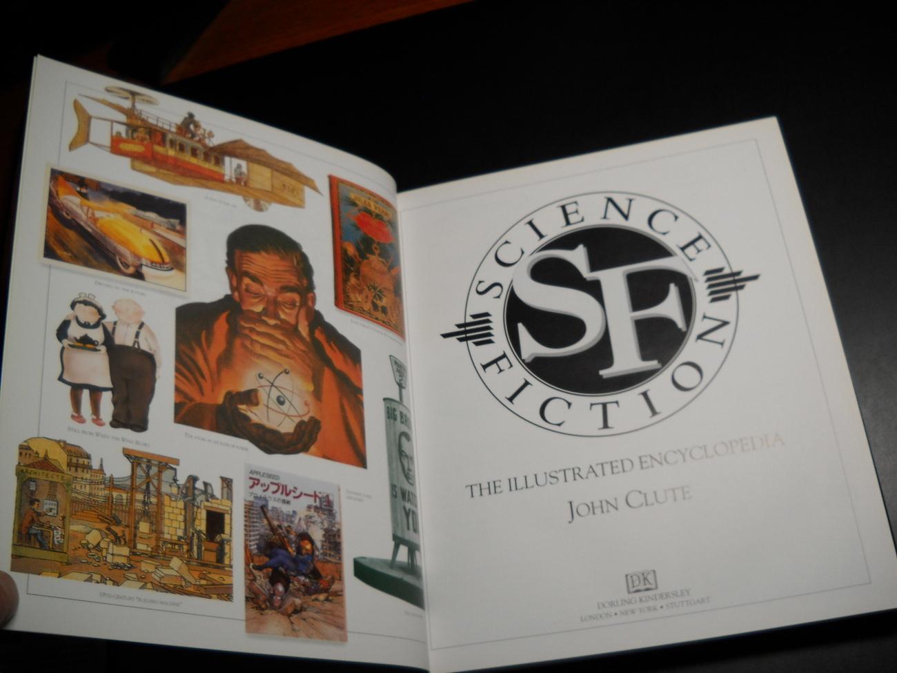 Science Fiction The Illustrated Encyclopedia John Clute 1995 Dorling Kindersley