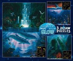 Whale Playground Ocean Marine Steve Sundram 500 pc Bagged Boxless Jigsaw Puzzle