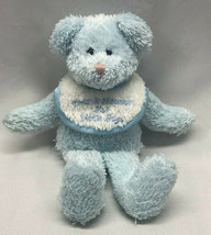 2003 The Boyd's Collection Stuffed Plush Baby Blue Teddy Bear Rattle Bib Thank - $98.99