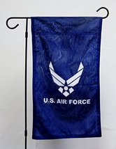 "US Air Force 12""x18"" Licensed Polyester Double Sided Garden Flag With Po... - $29.95"