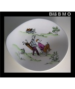 GOLF NOVELTY DISH - Queensberry Crown Staffordshire Fine Bone China - 5 ... - $30.00
