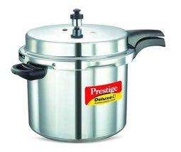 Prestige PD+10L Pressure Cooker, Medium, Metallic - $136.00