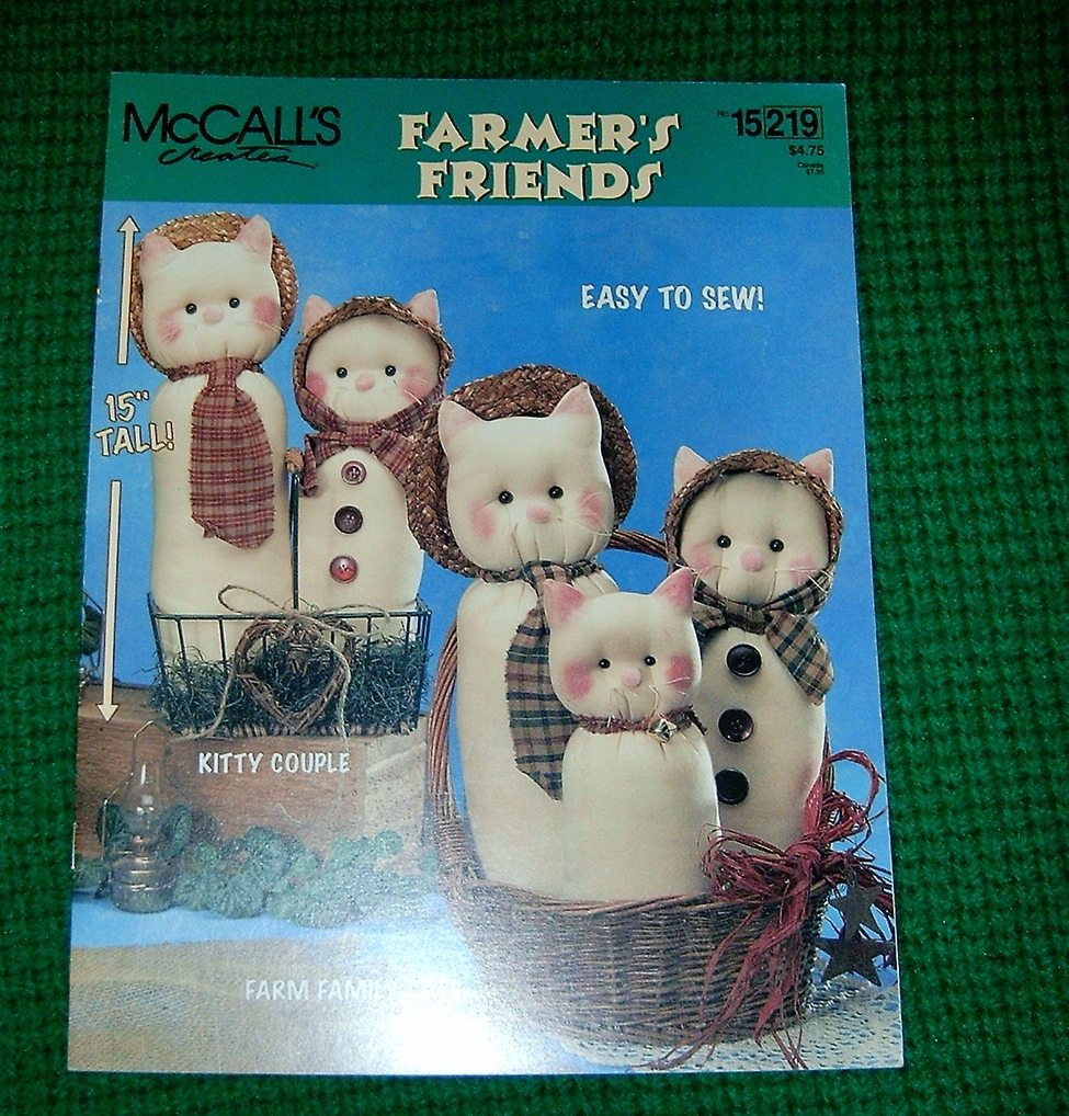McCall's Creates, Fabric Craft Farmer's Friends