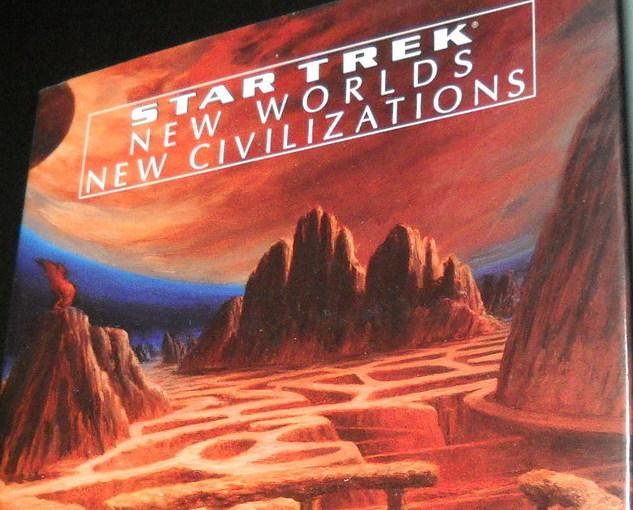 Star Trek New Worlds New Civilizations Michael Jan Friedman 1999 First Edition