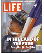 IN THE LAND OF THE FREE September 11 - And After LIFE Magazine - $10.95