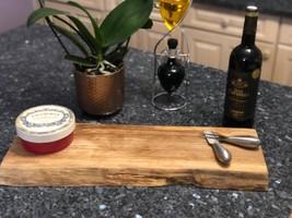James Martin Style Solid Oak Live Edge Chopping Board - 55 x 20 x 3cm - £126.85 GBP