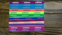 New Unisex Adidas Running 12 Piece Set HEADBANDS Adidas Logo All Sport #16 - $40.00