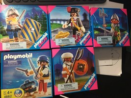 PLAYMOBIL Special #4662 PIRATE (bottom left) Rare 2006 Age 4+ FREE SH - $19.80