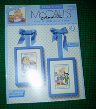 McCall's Creates, One Stitch At A Time Cross Stitch - $3.00