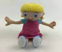 "Little Einsteins Annie Talking 8"" Plush Doll Vinyl Head Fisher Price 200... - $26.68"