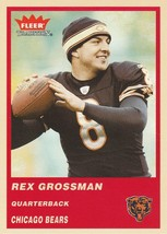 2004 Fleer Tradition #38 Rex Grossman  - $0.50