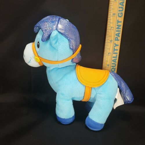 "Primary image for Disney Sheriff Callies Wild West Blue Sparky Horse Plush Toy 7"" Stuffed Animal"
