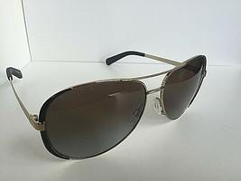 Polarized Michael Kors Gold Black Women's Sunglasses - $69.99