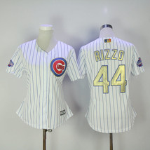 Men's Chicago Cubs 44 Anthony Rizzo Baseball Jersey White Champion  - $64.99
