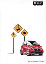 2013 SMART FORTWO US sales brochure catalog folder 13 Swatch  - $8.00