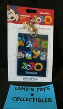 Disney Parks Authentic Lanyard Pouch ID Passholder card holder 2020 with... - $10.44