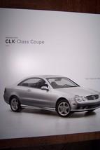 2003 Clk Class Coupe Mercedes Sales Brochure - $15.99