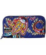 Vera Bradley RFID Georgia Wallet – Bright Blue - $35.52