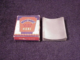 Vintage MoreShaves Safety Razor Hone, with box, instructions, More Shaves - $7.95