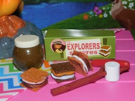 """Our Generation Smores Lot Roasting Stick Campfire Camping fits 18"""" American Girl - $19.79"""