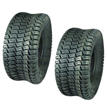 (2) Turf Saver Tires 15x6x6 15x6-6 15-6-6 Lawn Mower Tire Garden Tractor - $65.85