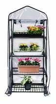 "Gardman R687 4-Tier Mini Greenhouse, 27"" Long x 18"" Wide x 63"" High - $58.71"