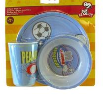PEANUTS 3 PIECE KID'S SET - $7.50