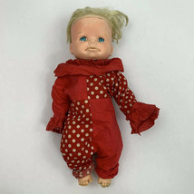 Vintage Mattel Baby Doll Sad Face 13 Inches 1965 - $14.99