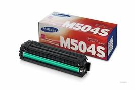 Samsung 504 CLTM504S Magenta Toner Cartridge F/ CLX-4195FN CLX-4195FW SL-C1860 - $106.87