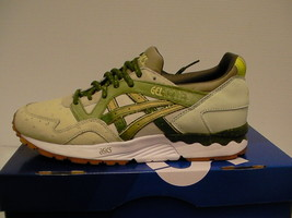Mens Asics running shoes gel lyte v size 8 us sand/cactus green new - $113.80