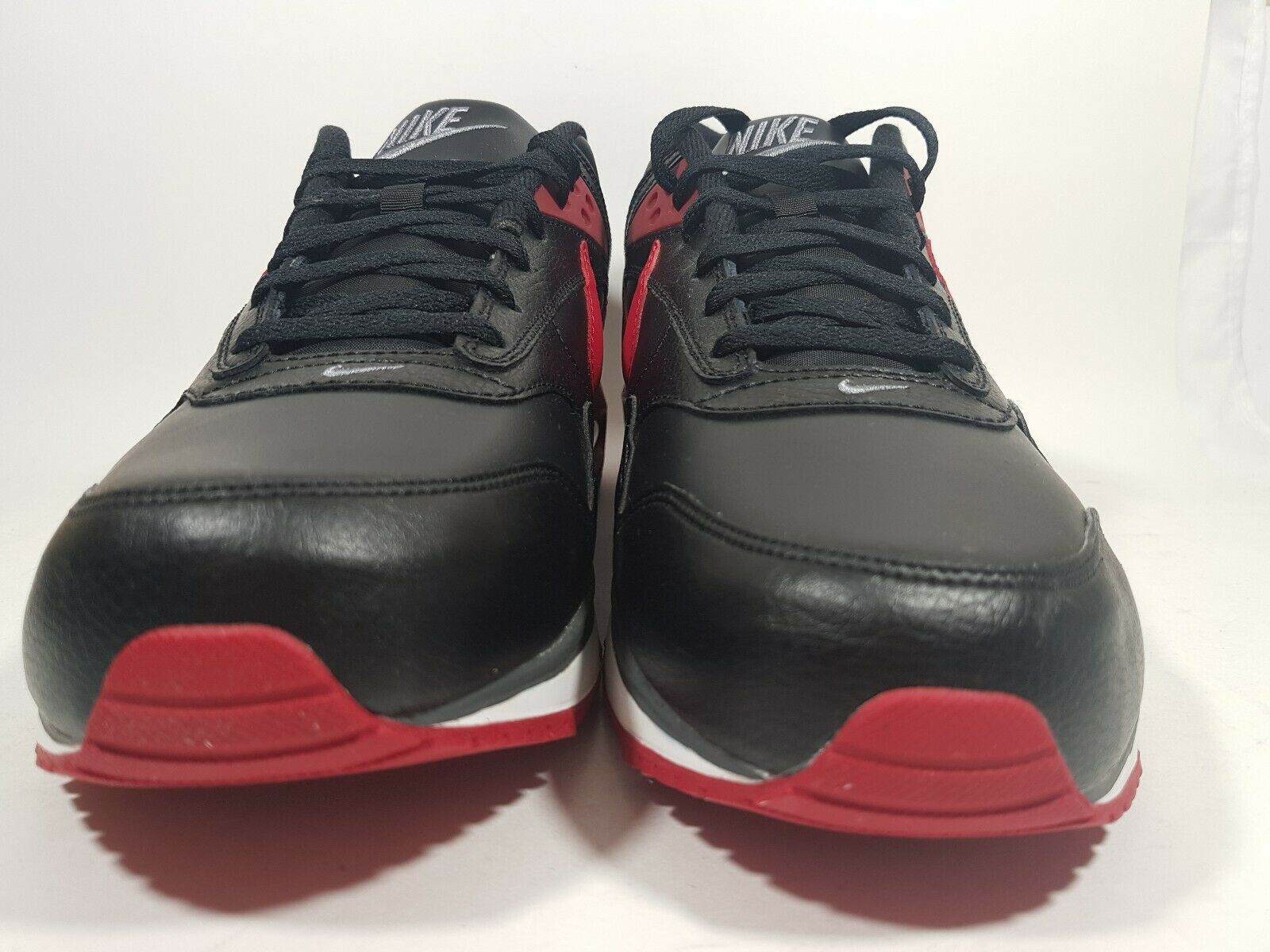 New Nike Air MAx Correlate Leather Running Black 518292 060 Mens Shoes 13 Rare image 3