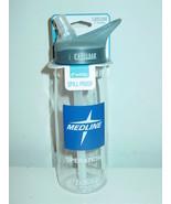 Camelbak Eddy Water Bottle Clear Logoed Bite Valve Spill Proof BPA fre 7... - $12.82