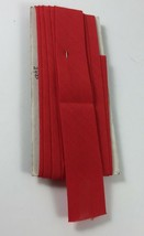 Wrights Red Wide Bias Tape 3 yards New No Packaging - $2.95