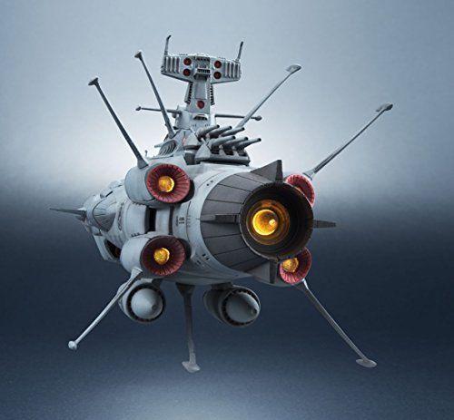 Kikan Taizen 1/2000 U.N.C.F. Aaa-001 Andromeda Space Battleship Yamato Figure