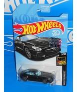 Hot Wheels 2018 Factory Set Nightburnerz #142 '15 Mercedes-AMG GT Mtflk ... - $4.00