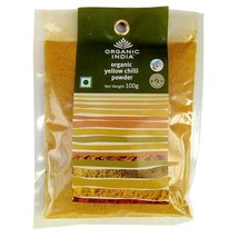 Organic India - Organic Yellow Chilli Powder 100g - $16.79