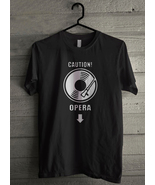 Caution opera - Custom Men's T-Shirt (3802) - $19.13 - $21.84