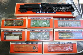 Lionel 6-8606 Boston & Albany 4-6-4 Hudson #784 PLUS 8 Freight Cars Complete Set - $599.00