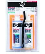 DAP Kwik Seal Grout Cleaner and Recolor Kit Pre-treat Color & Seal Brush... - $13.76