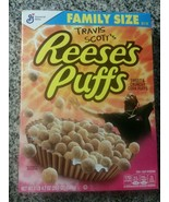 Brand New Travis Scott Reeses Puffs Cereal Family Size Limited - $14.82