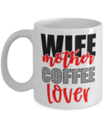 Mother's Day Gift- Wife Mother Coffee Lover - 11 oz Coffee Mug -Funny Sw... - £14.24 GBP
