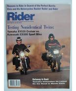 Magazine Rider April 1987 1980s Yamaha XV535 Kawasaki EX500 Elvis Motorc... - $7.99
