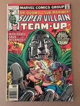 Super Villain Team Up #13 Marvel Comic Book 1977 VF+ DR DOOM & Sub-Mariner - $8.99