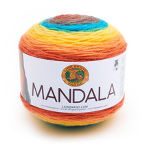 Lion Brand Mandala Yarn Thunderbird Color Gradient Yarn 3 Weight - $14.60 CAD