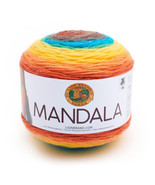 Lion Brand Mandala Yarn Thunderbird Color Gradient Yarn 3 Weight - $11.65