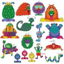 Monsters In The Closet cross stitch chart Cross Stitch Wonders - $14.60